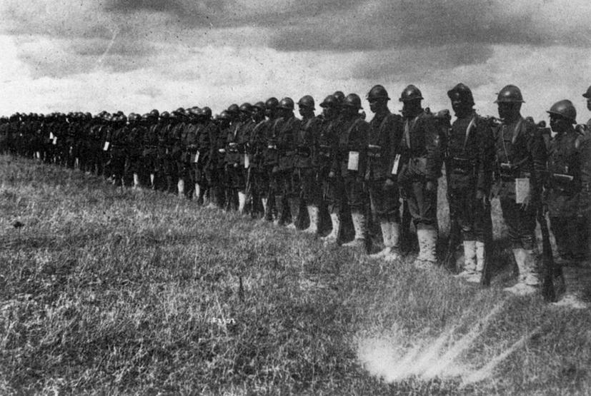 Despite Woodrow Wilson's virulent racism, historical revisionism and renewed oppression, more than 370,000 African American men would serve in the US Army