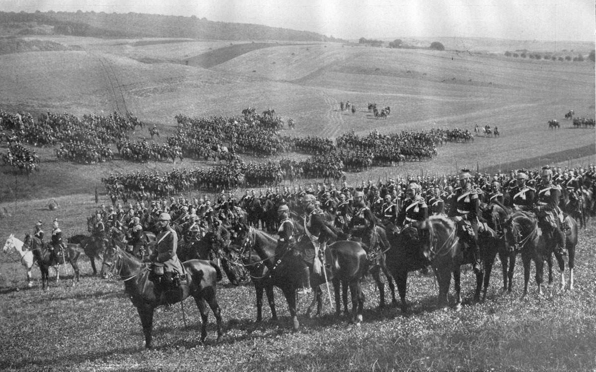 German cavalry in gas masks, World War I (1914-1918). [1280x915 ...