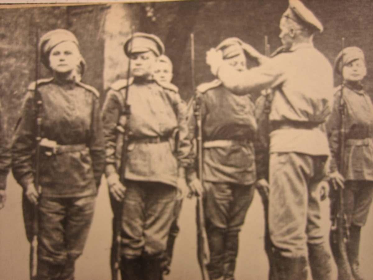 Women of Russia's Battalion of Death