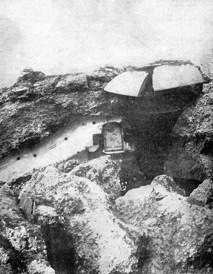 Destroyed fortifications of Liege