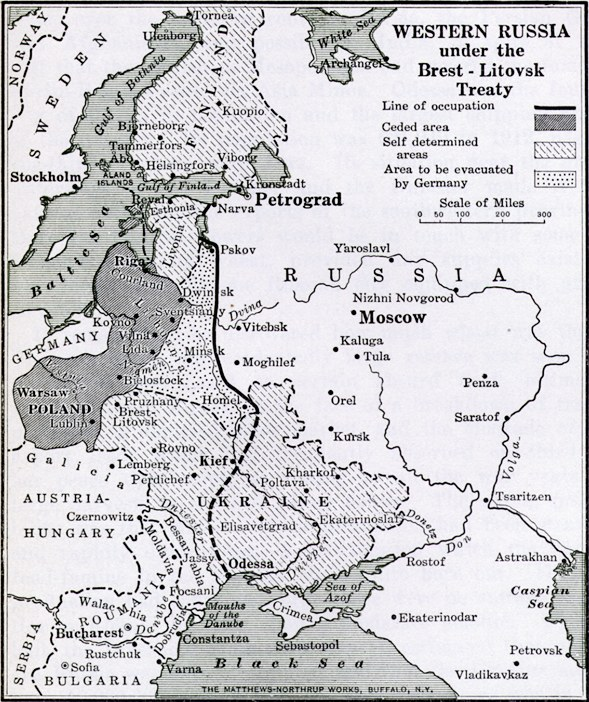 The September Program would morph into the Kreuznach Programme, which informed the lines of the Treaty of Brest-Litovsk between Russia and the Central Powers