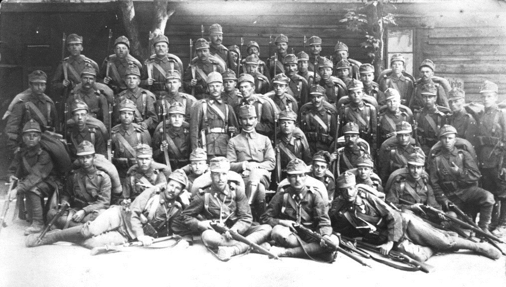 Austro-Hungarian soldiers in the Galician campaign