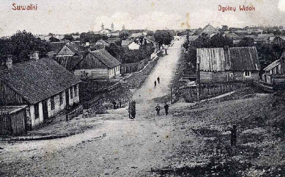 Poverty and little-to-no infrastructure: a prewar photograph of Suwalki