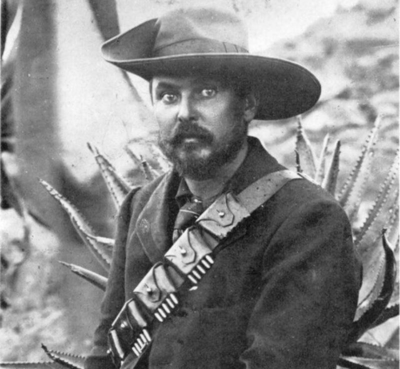 A photo of Louis Botha during the Second Boer War