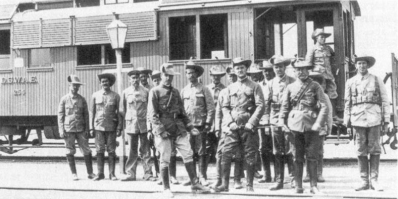 Men of the Vreikorps who served the traitor Manie Maritz