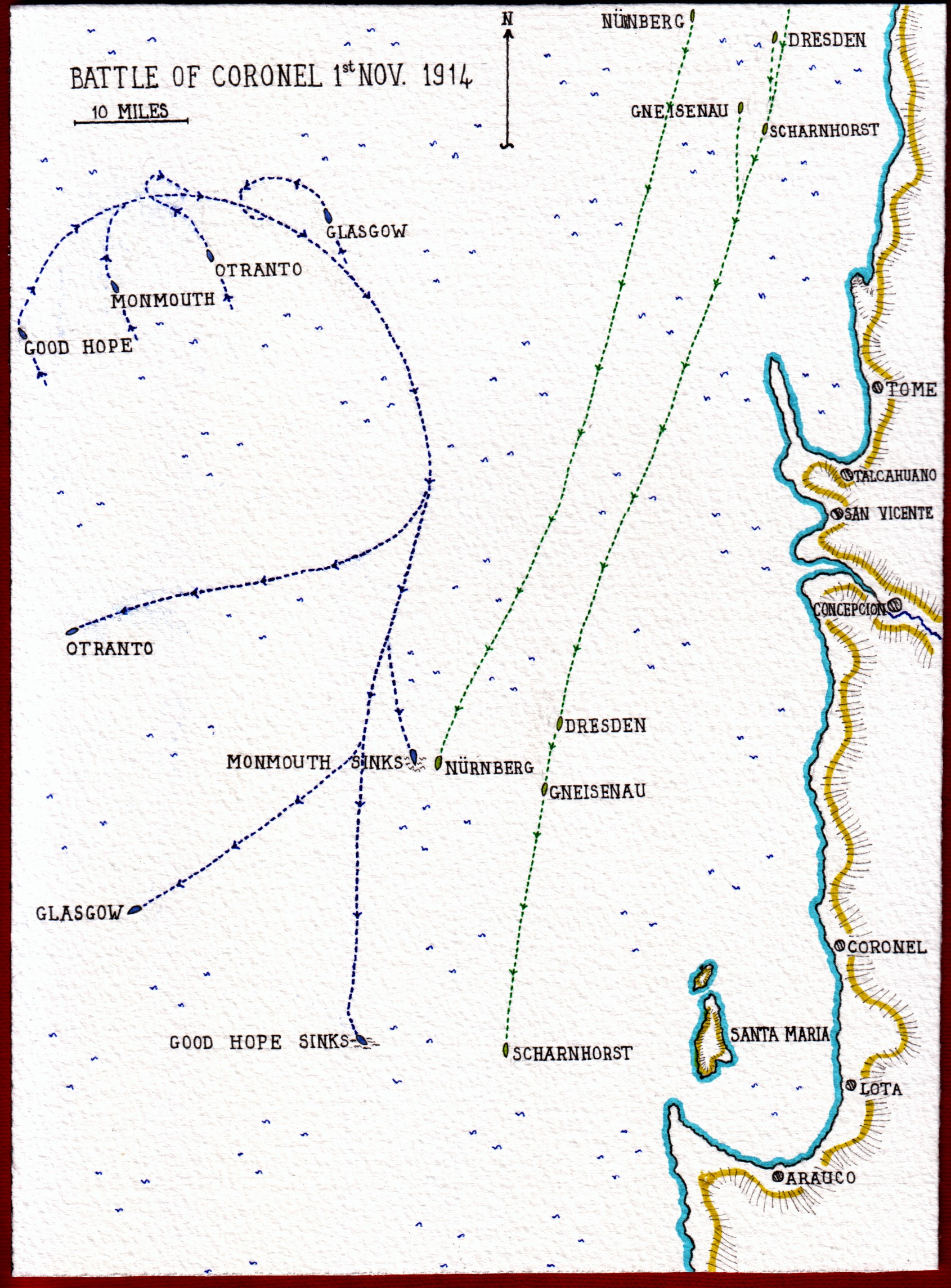 Map-of-Battle-of-Coronel