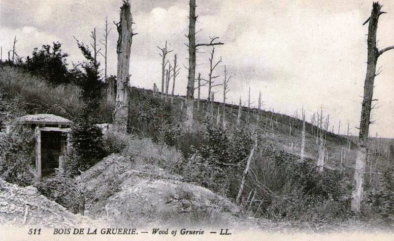 A trench in the Argonne