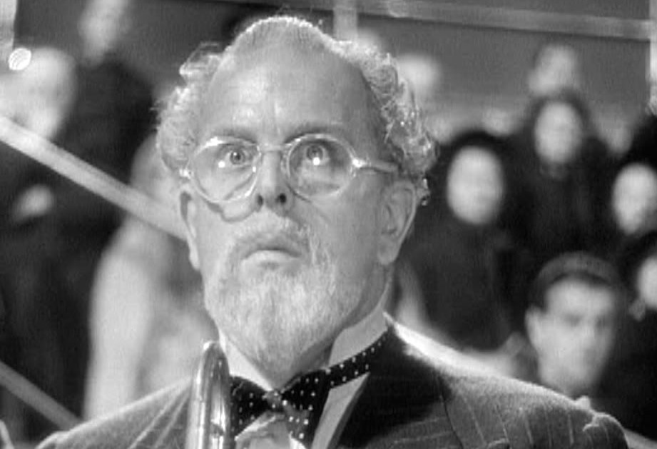 Robert Morley as Andrew Undershaft in the 1941 film version of Shaw's Major Barbara