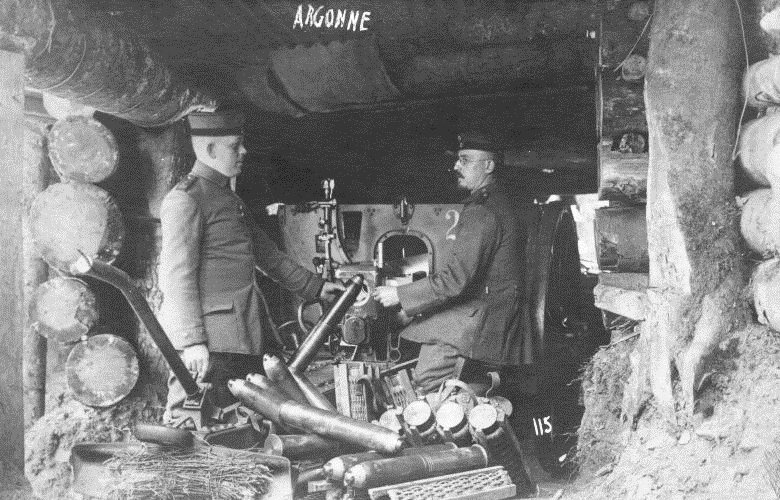 A German artillery bunker. Hardened targets  required bigger guns to throw heavier shells