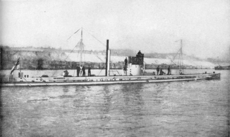The U-9, built four years before the war, is a good example of how small and limited early submarines were