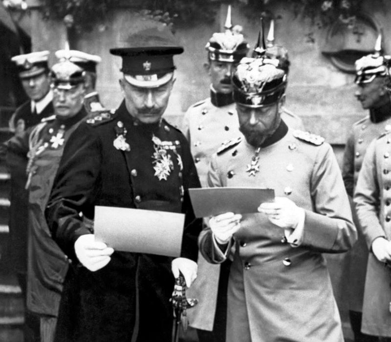 Kings and cousins: Wilhelm II and George V before the war