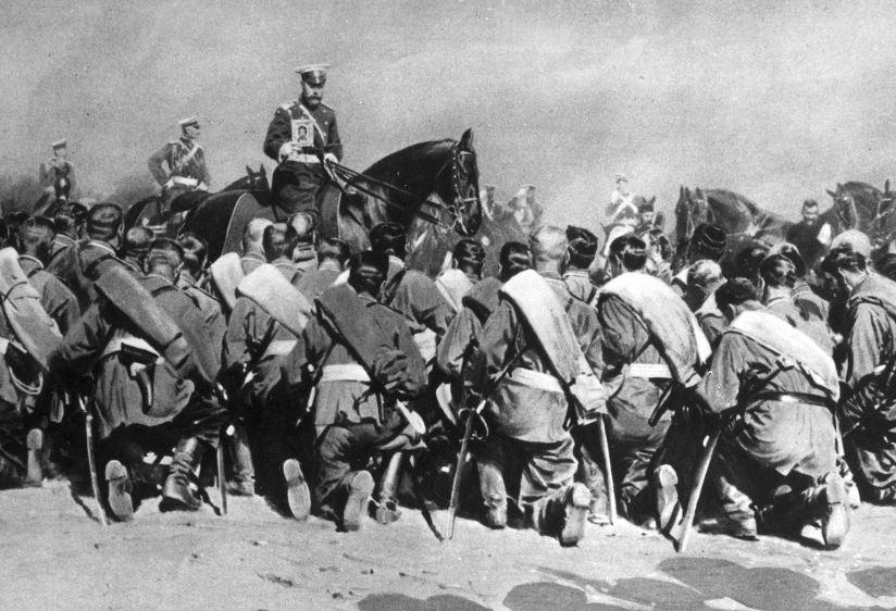 TzarNicholasAmongTroops1
