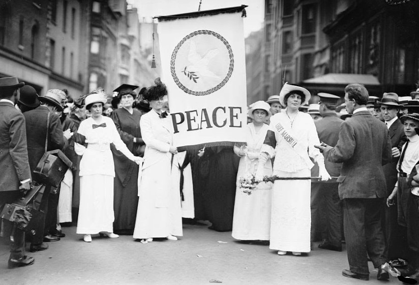 The Women's Peace Parade of August 29, 1914