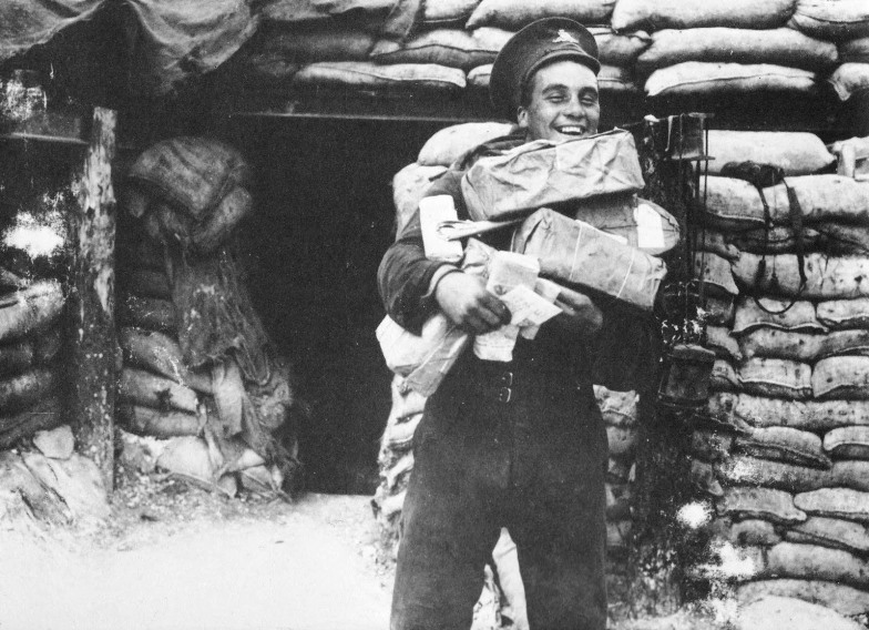 The Western Front had seen heavy delivery of Christmas parcels to the men in the trenches; Russian troops had received much less at this point
