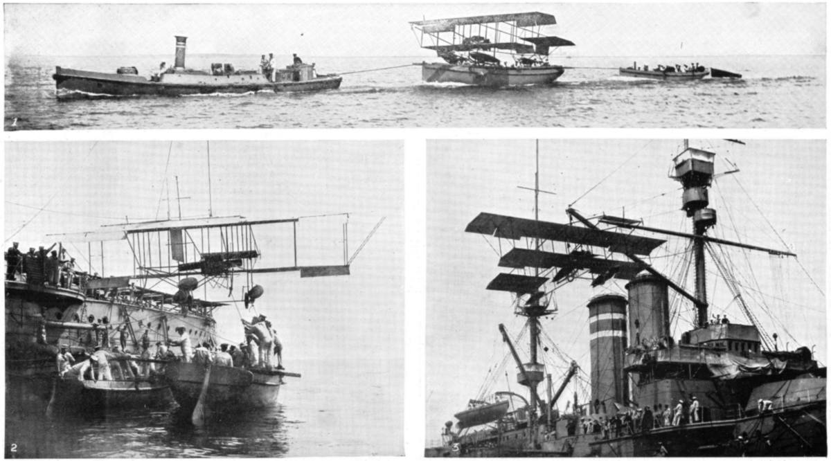 Photos of the December 25th Cuxhaven raid published in the Illustrated War News five days after the raid