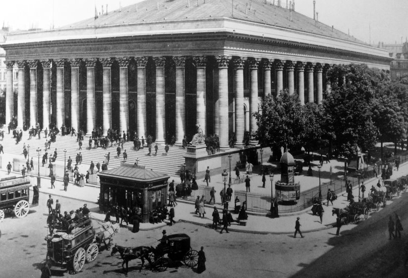 The Bourse in 1892.