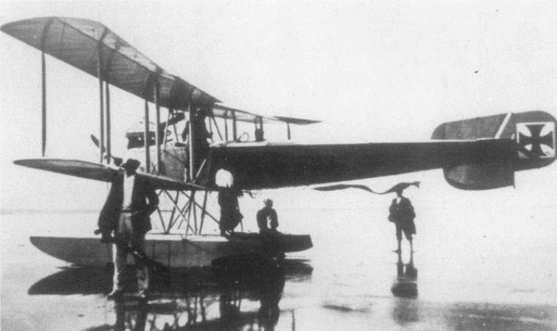 A Freidrichshafen FF 29 seaplane