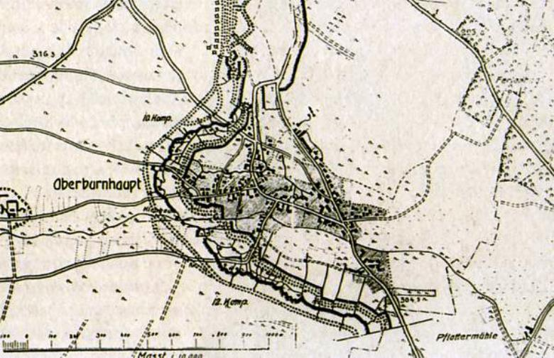 A map of Burnhaupt
