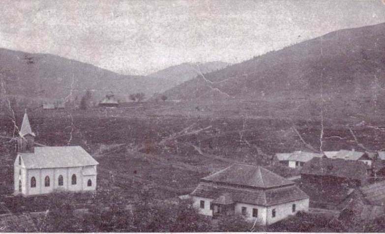 A contemporary postcard view of Kirlibaba (Carlibaba)