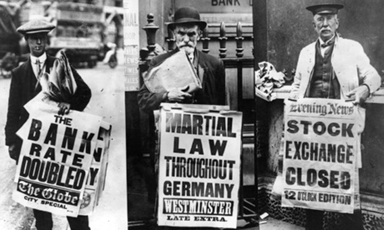 Contrary to conspiracy theories about the Great War, its outbreak was a disaster for western capitalism. Via the Guardian