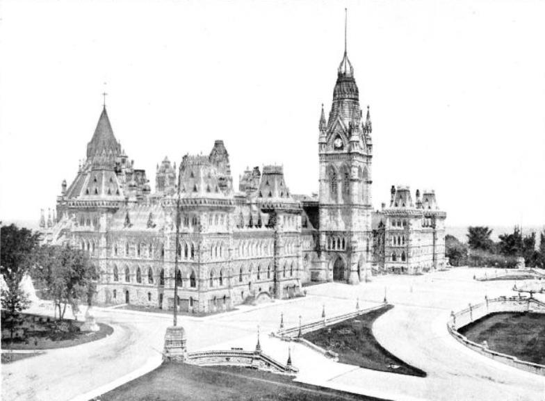 Parliament Hill in 1914