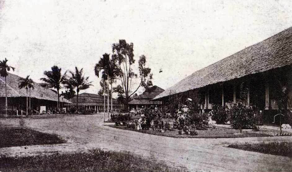 Tanglin Barracks in 1900