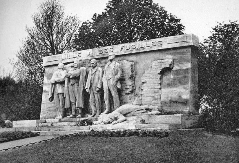 Lille-monument-des-fusillés-1938