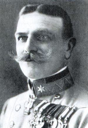 Gen. Kusmanek: proof that medals and mustaches do not make a great commander