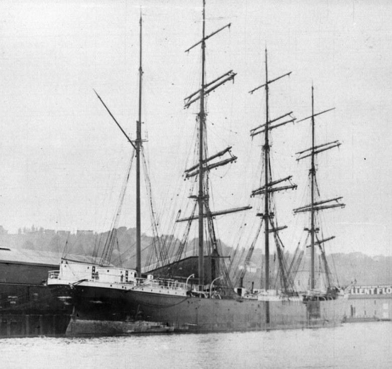 The barque William P. Frye