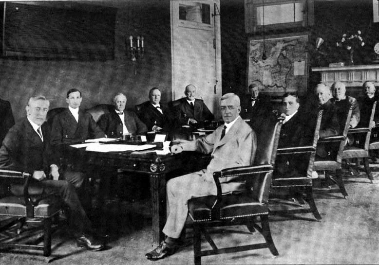 Robert Lansing in Wilson's War Cabinet