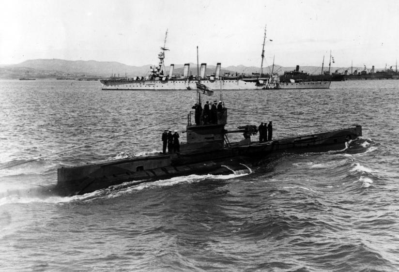 HM Submarine E11 the successor to E10.