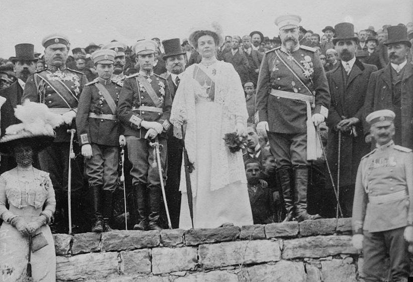 Bulgaria, Tsar Ferdinand of Bulgaria and his family