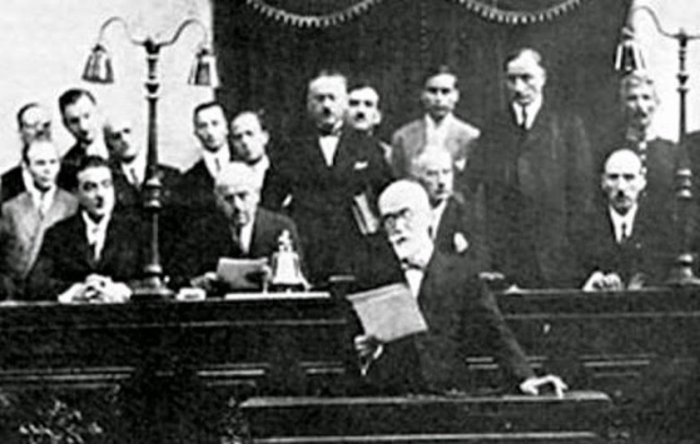1911 vote for a new constitution
