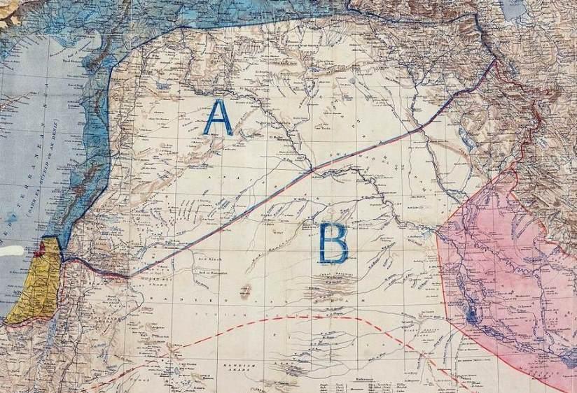 Sykes-Picot-map