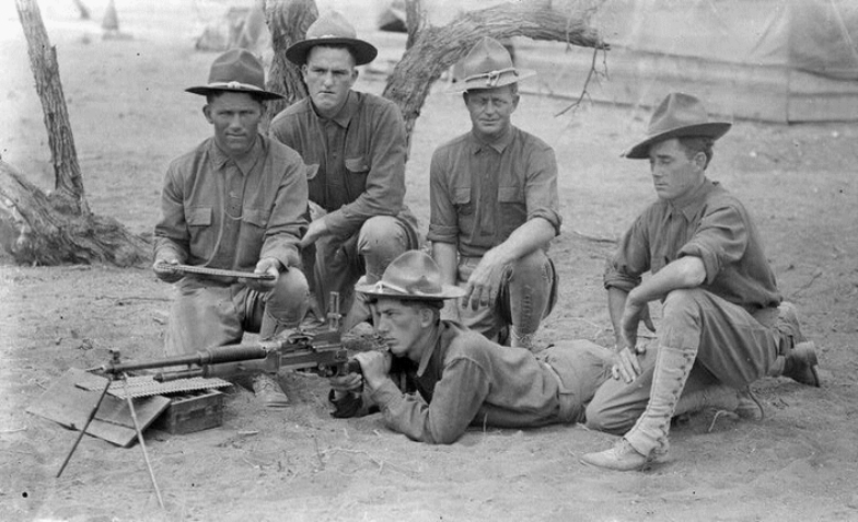 hotchkiss m1909 benét mercié machine gun