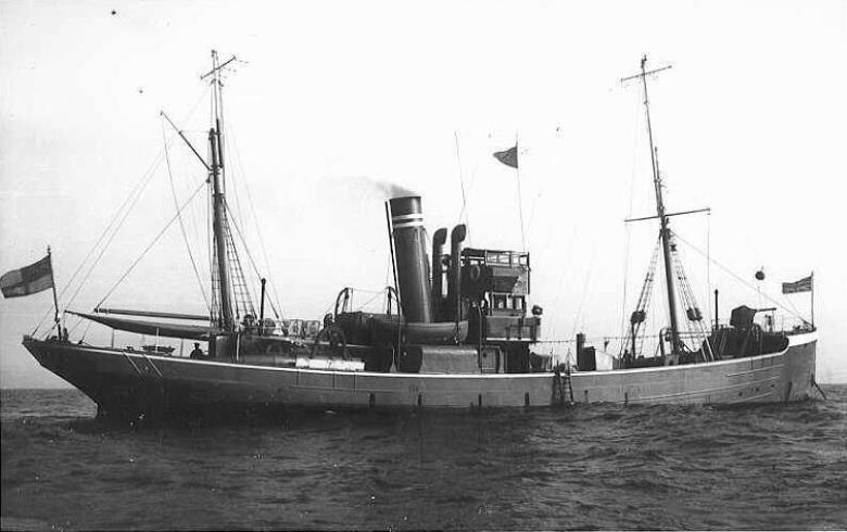 HM Trawler John Edmund, Mersey-class, renamed Foyle