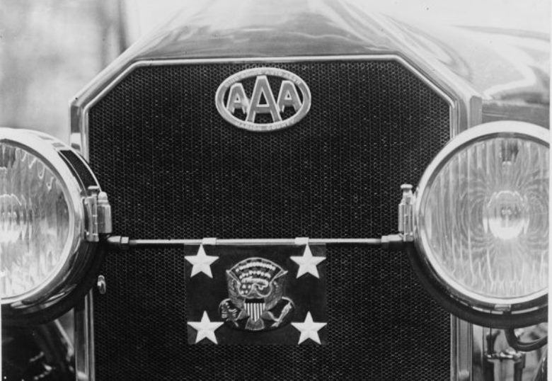 Warren G. Harding's Pierce Arrow, 1922