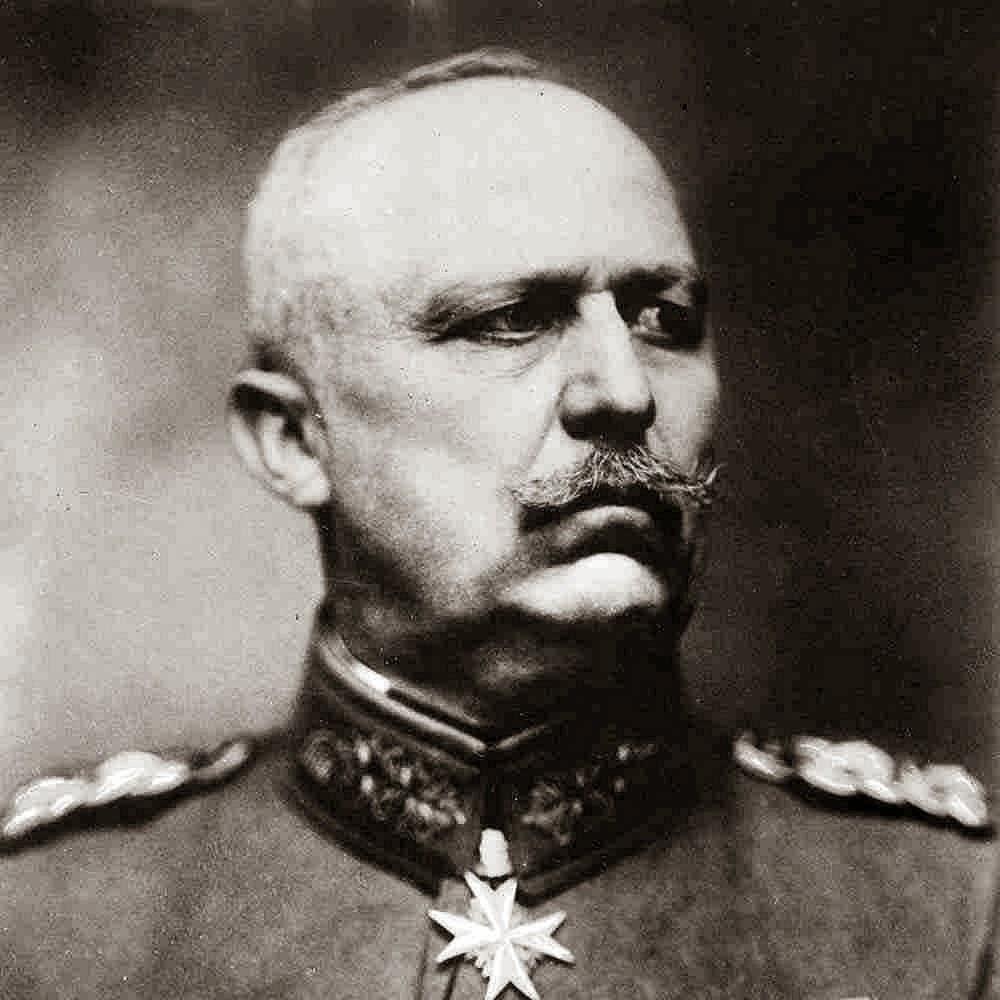 Erich von Ludendorff was not known for his sense of humor