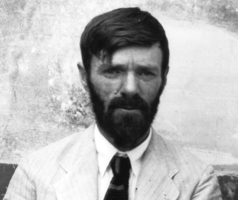 """D.H. Lawrence's poetry on the war, """"All Of Us,"""" was heavily censored"""