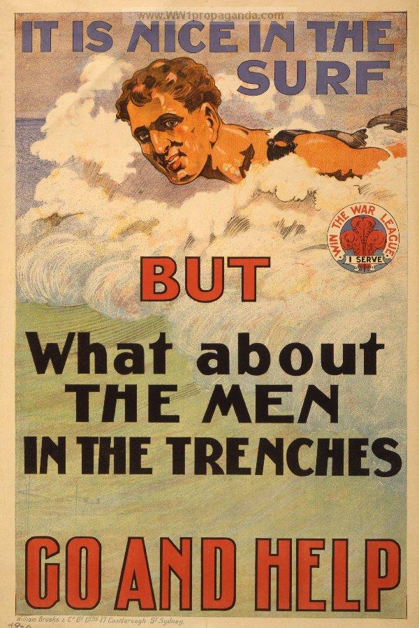 Australian recruiting poster