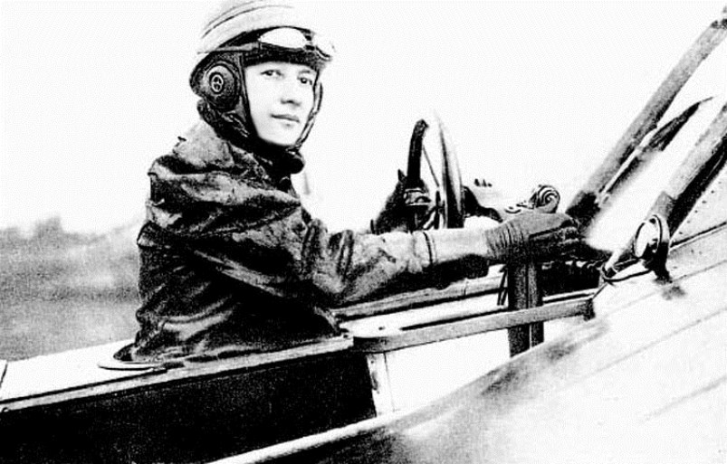 Marie Marvingt became the first woman to fly an air combat mission when she bombed Metz in 1915