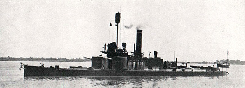 The SMS Bodrog fired the first shots of the war on August 5 when it bombarded Belgrade