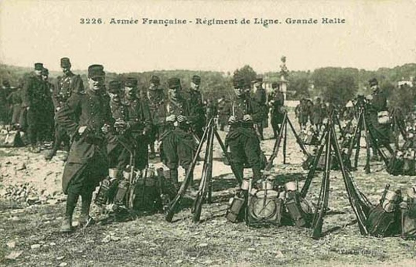The French army that went to war was perfectly trained and kitted for the battles of Napoleon