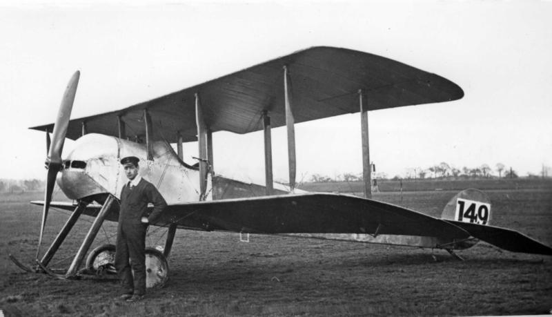 An 80 hoprsepower Sopwith Tabloid like the one flown by Lt. Charles Collett