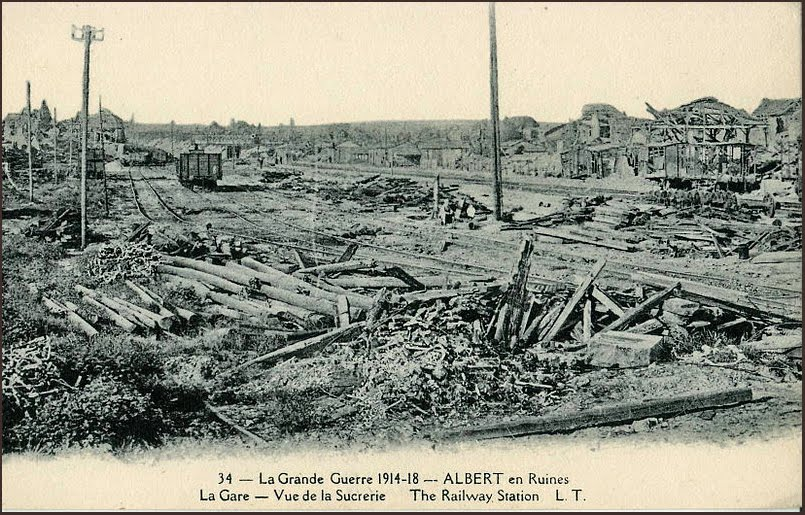 """The devastation within the """"Red Zone"""" of the Western Front was complete"""