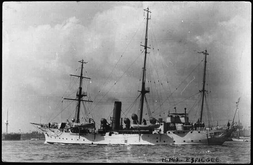 The HMS Espiegle