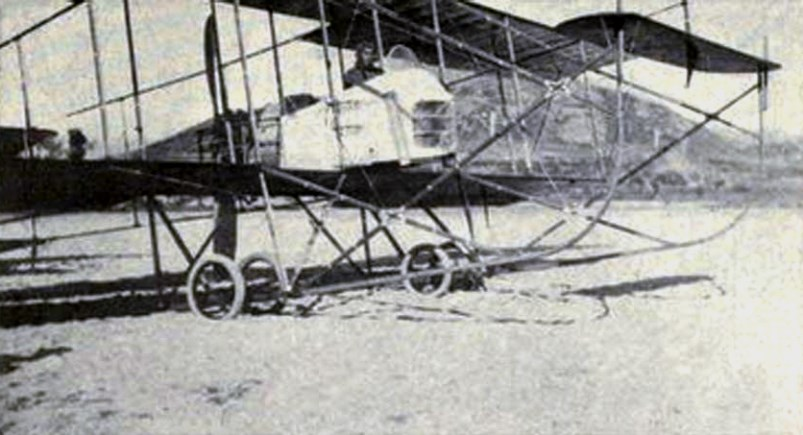 One of the biplanes Japan used during the Siege of Tsingtao
