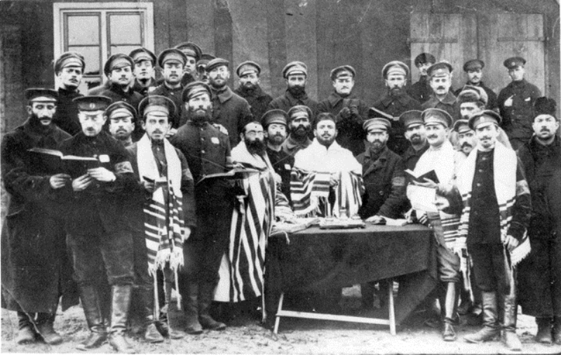 A few of the 350,000 Jews who fought for the Tsar. Despite pogroms and official anti-Semitism, they hoped to earn tolerance and respect by their service