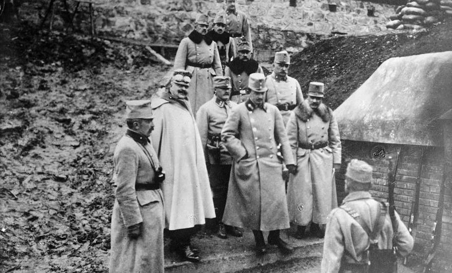 Archduke Karl in Przemysl, August 1914