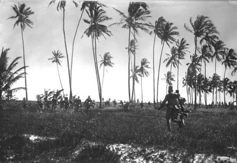 German Askaris (native troops) in the Battle of Tanga
